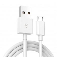 1m USB Micro-B PVC Kabel Datenkabel mit 3 A Schnellladung USB 2.0