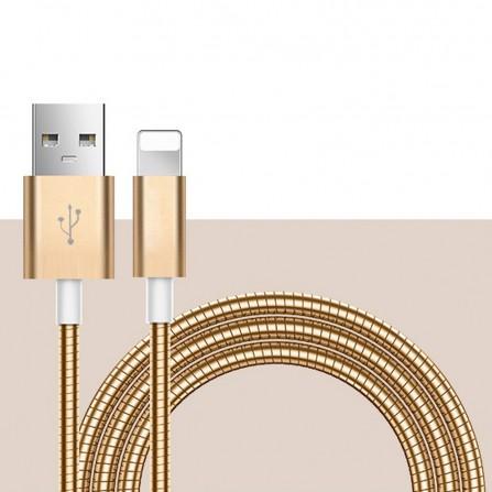 1m USB-C Typ C Kabel Datenkabel, 2A Schnellladung, Metall-Ummantelung