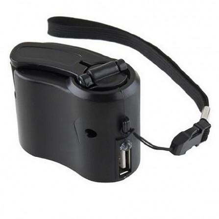 Dynamo USB Ladegerät Notfall Reise Reiseladegerät Survival Handy Smartphone