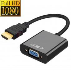 HDMI auf VGA (D-Sub 15-polig) Adapter, Konverter, Full HD 1080p, vergoldete Kontakte
