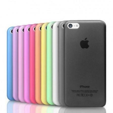 Hülle Schutzhülle Hard-Case für iPhone 5 SE 6 7 8 X nur 0,3 mm dünn
