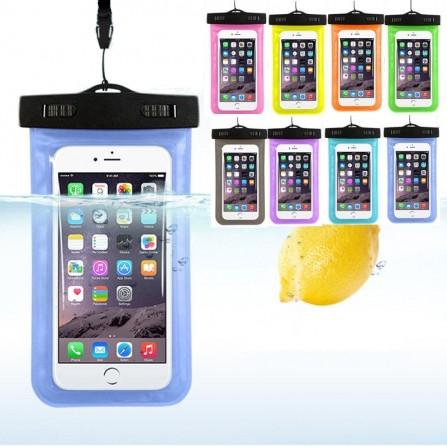 Schutzhülle wasserdicht Unterwasser Handy Strand Case für iPhone, Samsung, uvm.
