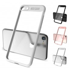 Schutzhülle Hülle Cover Hard-Case für iPhone 5 SE 6 7 8 X, Auto Focus, Fenster