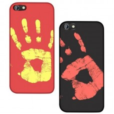 Cover Schutzhülle für iPhone 5, 6, 7, 8, Plus X, XR, XS, Max, Thermoeffekt Wärme Temperatursensor Farbwechsel