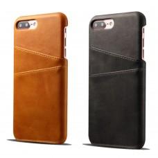Echt Leder Hülle Etui für iPhone 6 iPhone 7 iPhone 8 iPhone X, braun, schwarz