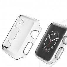 Schutzhülle Rundum-Schutz Cover Case Apple Watch iWatch 38 / 42 / 40 / 44 mm transparent