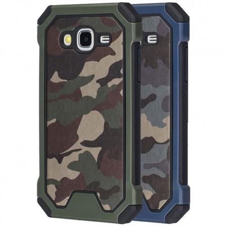 Hülle Schutzhülle Case für Samsung Galaxy S6 S7 S8 S9 A3 A5 A6 J3 J5 J6 J7 J8 Camouflage Military