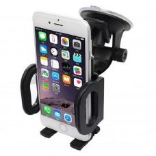 KFZ Auto Halterung 360° Universal Smartphone Windschutzscheibe Saugnapf