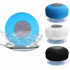 Wasserdichter Lautsprecher Sound Box mit Bluetooth, für Bad, Dusche, mit Saugnapf, bunt