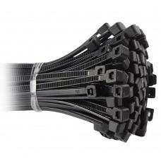 Kabelbinder Kunststoff Schnellverschluss verschiedene Sets schwarz