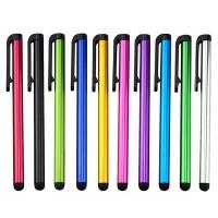 10 x Eingabestift Bedienstift Stylus Pen Touchpen Aluminium Smartphone Tablet